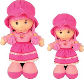 Poupée chiffon Qweenie Dolls